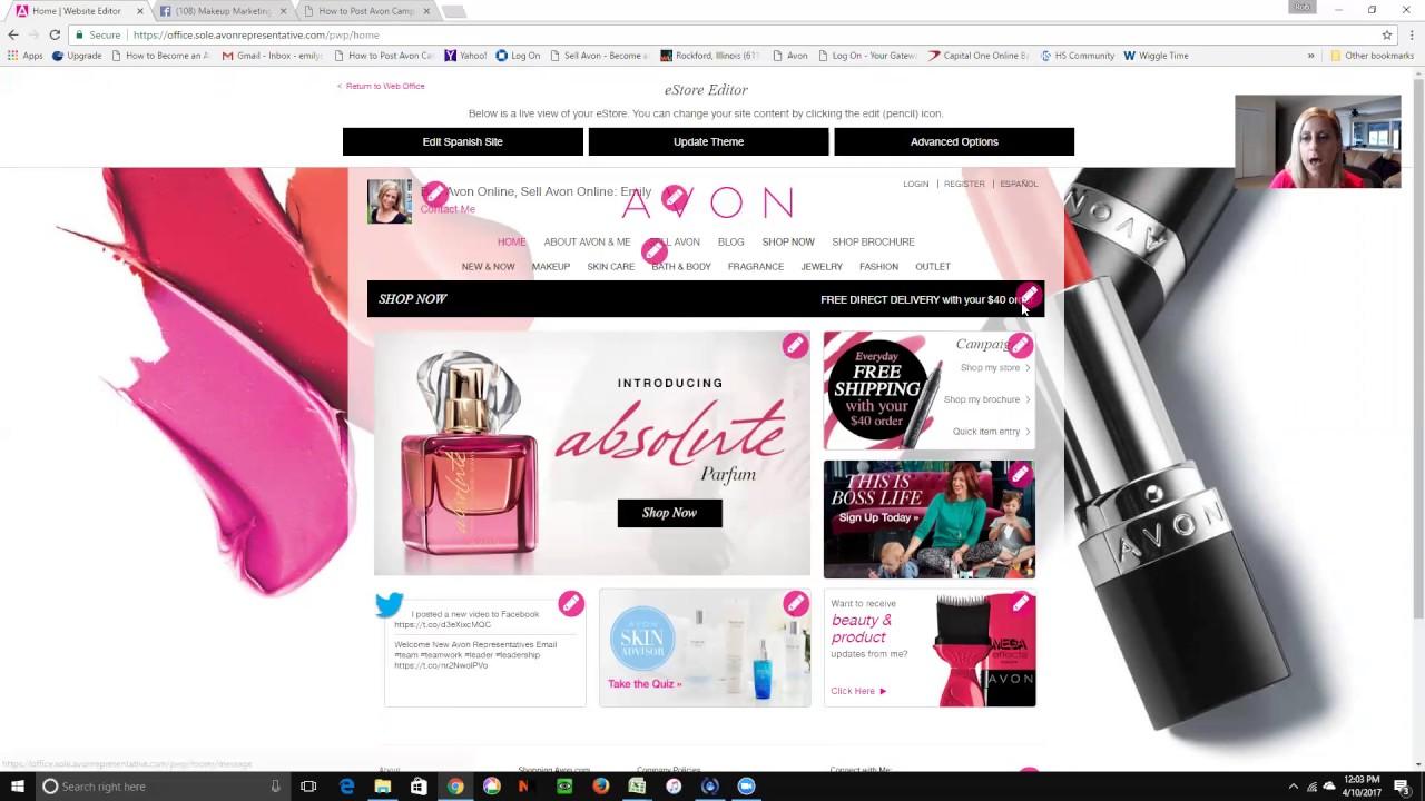 Avon Online Marketing Tips – Campaign 10 2017