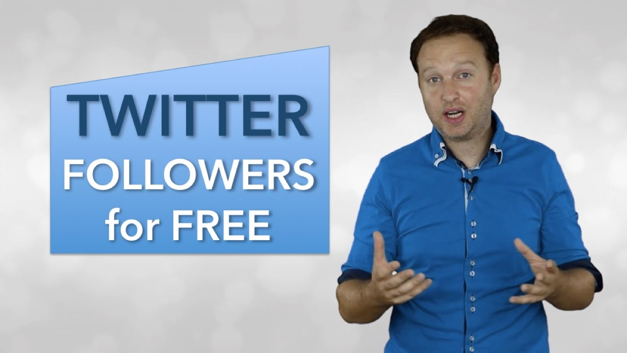 Social Media Marketing Tips – How to Get Twitter Followers for Free