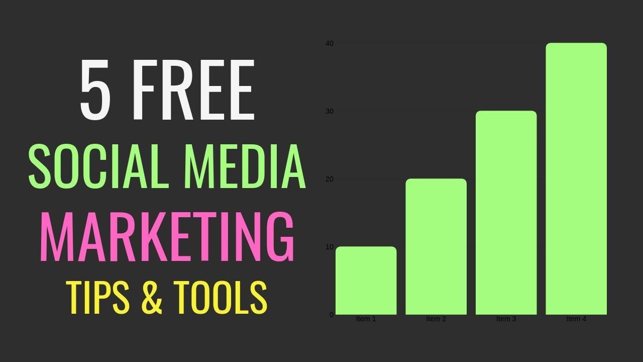 5 Free Social Media Marketing Tips (2019)