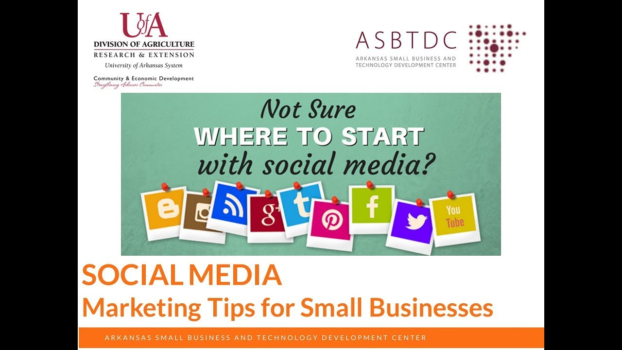 Social Media: Marketing Tips for Small Business