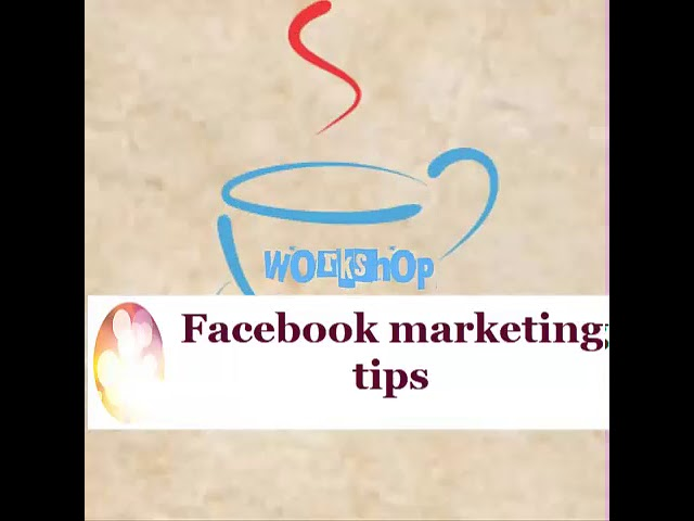 The workshop Digital and Social media Marketing Tips and Ideas