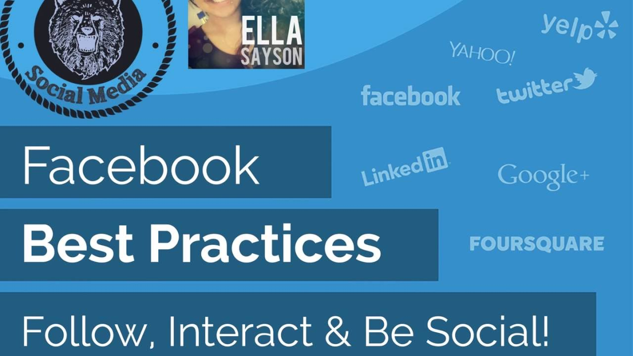 Facebook Best Practices (Social Media Marketing Tips) 5 Easy Steps To Success!